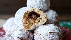 Hazelnut Spread-Filled Sufganiyot