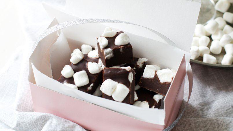 Marshmallow Hot Chocolate Truffles
