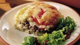 Gluten-Free Italian Hamburger Deep Dish