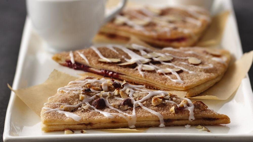 Sugar-and-Spice Chocolate-Filled Pastries