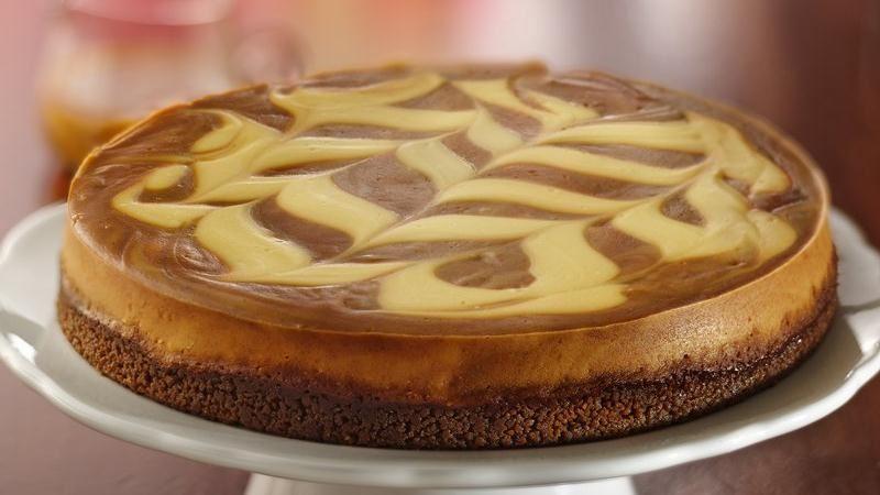 Caramel-Apple Butter Cheesecake