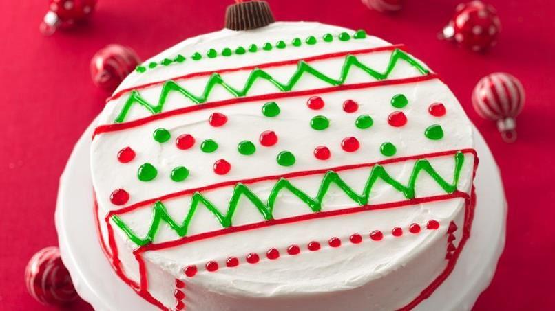 Ornament Cakes