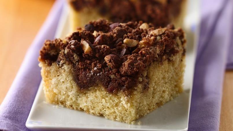 Hazelnut Streusel Coffee Cake