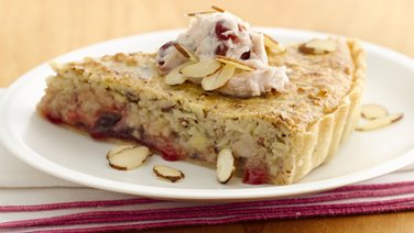 Cherry Almond Brunch Tart