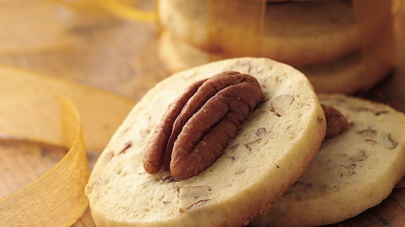 Pecan Wafer Cookies