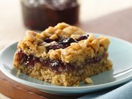 Gluten-Free Peanut Butter and Jam Cookie Bars