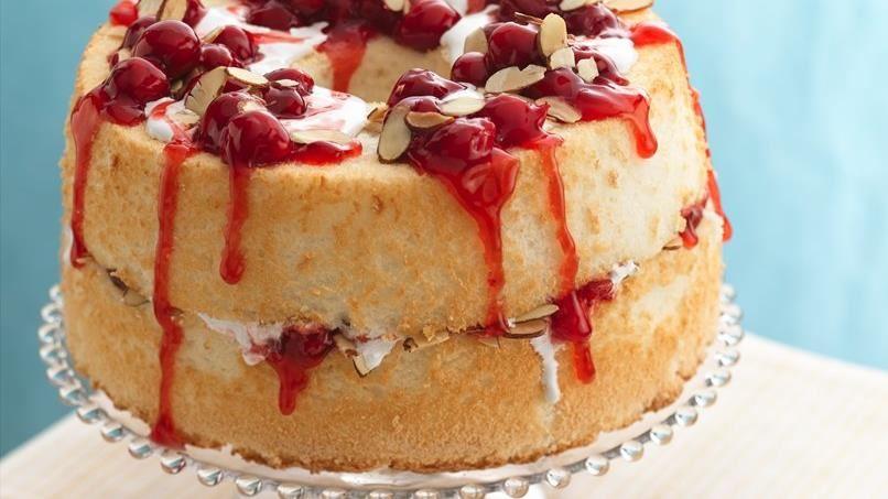 Cherry-Almond Torte