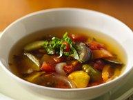 Slow-Cooker Summer Vegetable Ratatouille Soup
