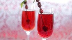 Festive Sparkling Cocktail