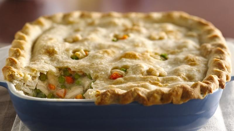 Classic Chicken Pot Pie recipe from Betty Crocker