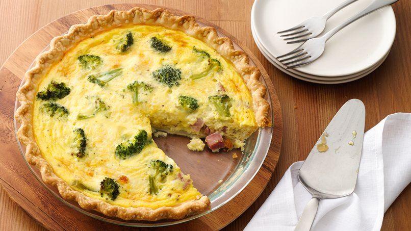 Ham and Broccoli Quiche