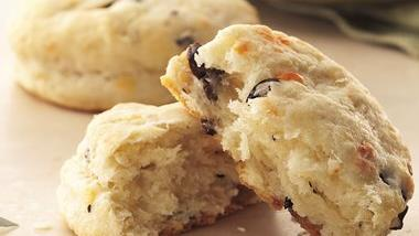 Provolone and Olive Biscuits