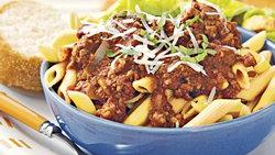 Slow-Cooker Beef Ragu with Penne