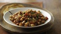 Italian Three Bean and Sausage Casserole