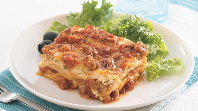 Lazy-Day Overnight Lasagna