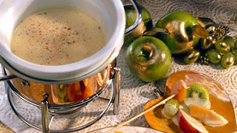 White Almond Fondue