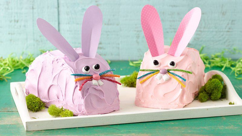 Easy Bunny Cake recipe from Betty Crocker