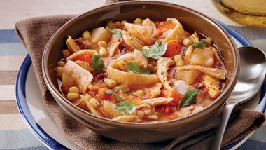 Slow-Cooker Spicy Chicken Stew