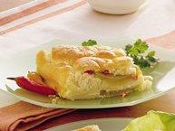 Chiles Rellenos Egg Soufflé Bake