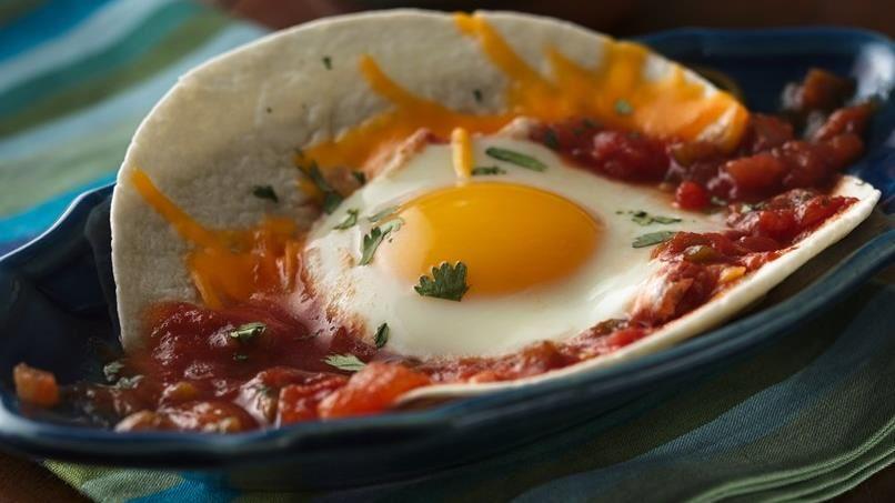 Easy Huevos Rancheros