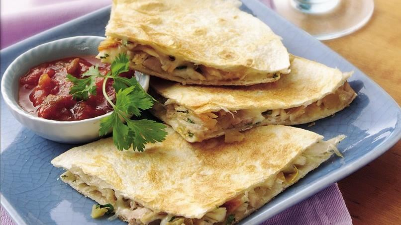 Chicken Quesadilla Sandwiches