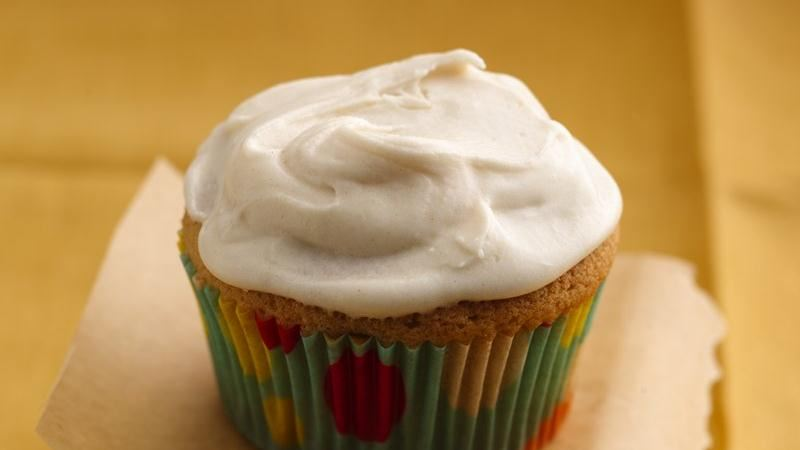 Brown Sugar Cupcakes with Browned Butter Frosting
