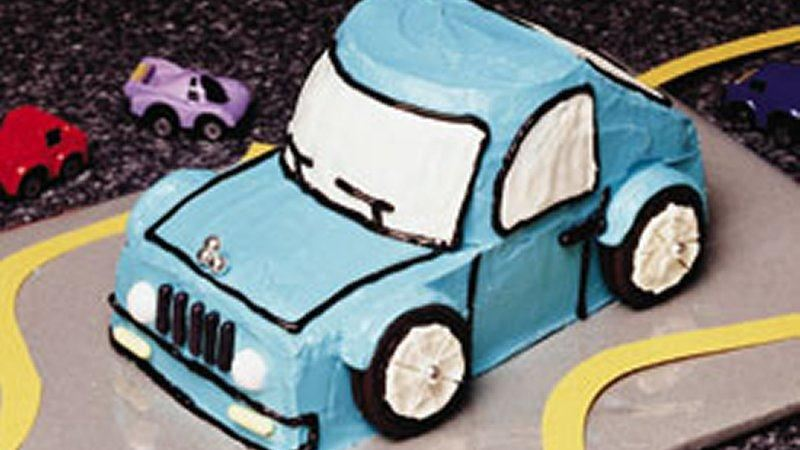 Off-the-Road Car Cake