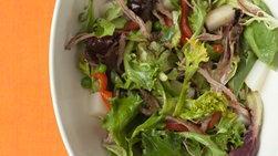 Ensalada de Verduras con Falda de Res