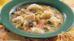 Slow-Cooker Chicken and Grands Dumplings