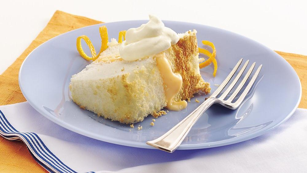 Orange-Cream Angel Cake