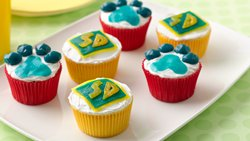Scooby-Doo Paw Print Cupcakes