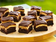 Traditional Peanut Butter Truffle Brownies