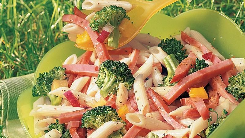 Italian Ham and Pasta Salad