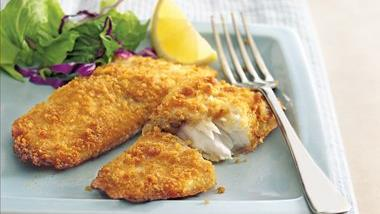 Graham-Crusted Tilapia