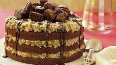 German Chocolate Crazy Cake
