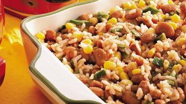Fiesta Mexican Rice and Pinto Beans