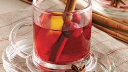 Spiced Cranberry Hot Toddy