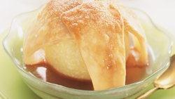 Cranberry-Glazed Apple Dumplings