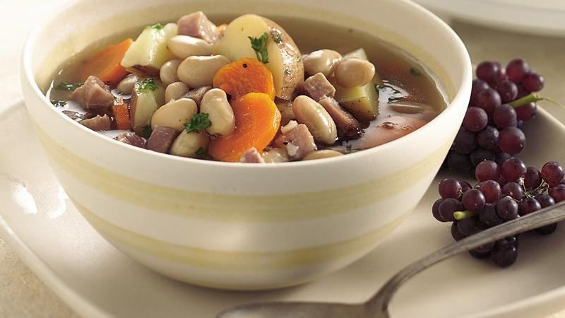 Slow-Cooker Tuscan Bean Soup