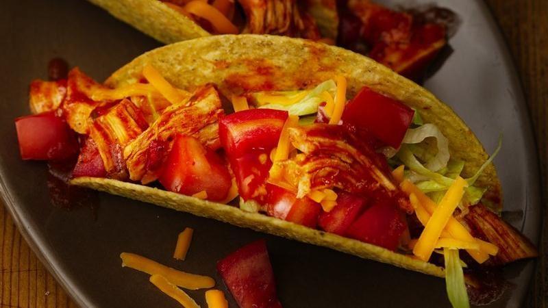 Zesty Turkey Tacos