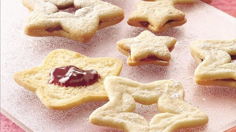 Raspberry Sandwich Sugar Cookies