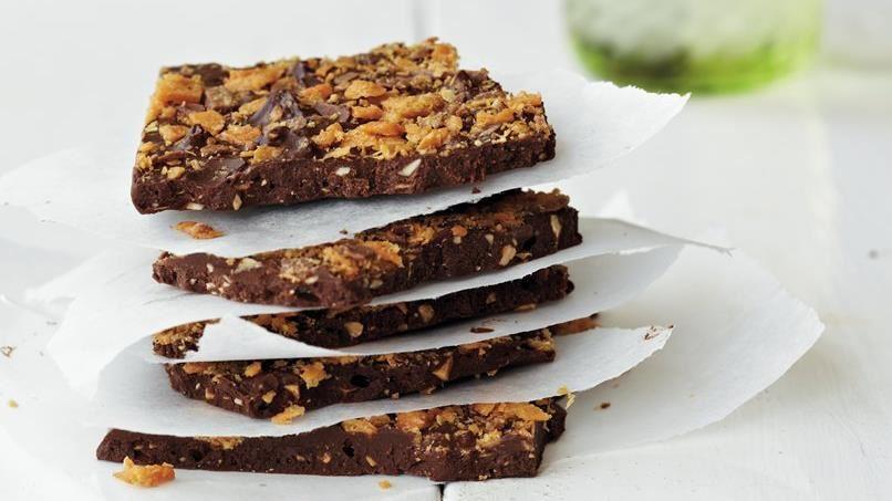 Chocolate Butter-Crunch Bark