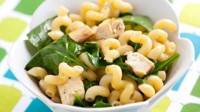 Rosemary Chicken and Spinach Pasta