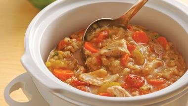 Slow-Cooker Chicken-Barley Stew