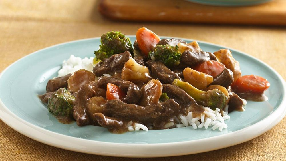 Teriyaki Beef and Vegetables