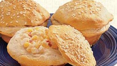 Chick and Corn Mini Pies