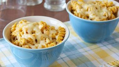 Carrot and Cauliflower Mac and Cheese