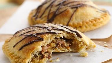 Peanut Butter Cup Cookie-Stuffed Pies