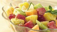 Speedy Honey-Lime Fruit Salad