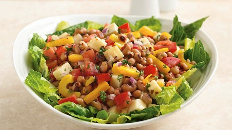 Black-Eyed Pea Salad Bowl